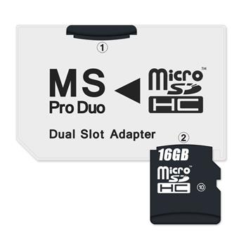 CONNECT IT Adaptér MS PRO DUO 2x Micro SDHC DUAL SLOT