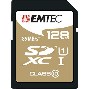 EMTEC SDXC 128GB Gold Plus Class 10