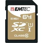 EMTEC SDXC 64GB Gold Plus Class 10