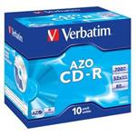VERBATIM CD-R AZO 700MB, 52x, jewel case 1 ks