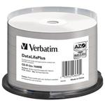 VERBATIM CD-R DataLifePlus 700MB, 52x, silver printable, spindle 50 ks