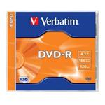 VERBATIM DVD-R AZO 4,7GB, 16x, jewel case 1 ks