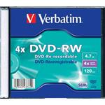 VERBATIM DVD-RW SERL 4,7GB, 4x, jewel slim 1 ks