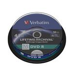 VERBATIM M-DISC DVD-R 4,7GB, 4x, printable, spindle 10 ks